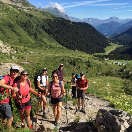 The Mont Blanc trails Italian style