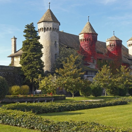 Guided Visit of Evian-les-Bains & Ripaille Castle