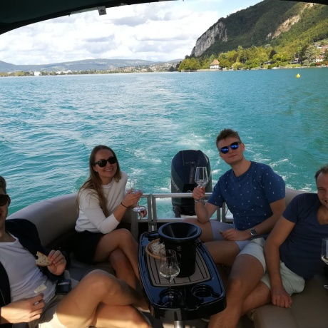 Wine Tasting Cruise on Lake Annecy