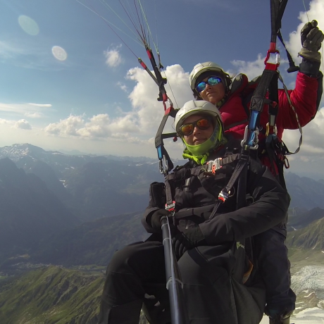 Paragliding : Tandem flight in Chamonix